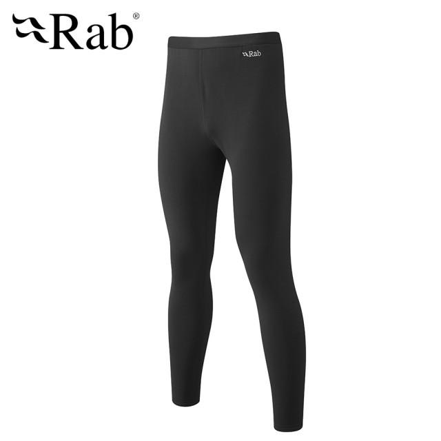 【英國 RAB】Power Stretch Pro Pants 保暖排汗內搭褲 男款 黑色 #QFE40(保暖排汗內搭褲)