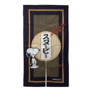 【SNOOPY 史努比】日式長門簾HB854藍色(150x83cm)
