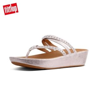 【FitFlop】LINNY CRISS CROSS TOE-THONG SANDALS - CRYSTAL(銅色)
