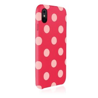 【JTL】iPhone XR 6.1 Polka 設計師款合成皮革背蓋