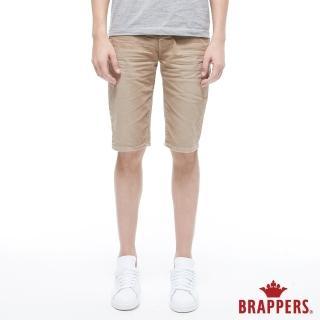 【BRAPPERS】男款 HC Cargo系列-中腰彈性五分短褲(卡其)