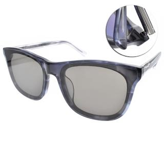 【FAKE ME 太陽眼鏡】時尚潮流款(琥珀透藍-灰鏡片#CLOVER CBT)