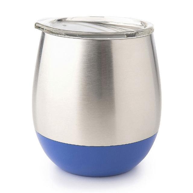 【美國 U Konserve】雙層保溫不鏽鋼杯(一抹天藍)