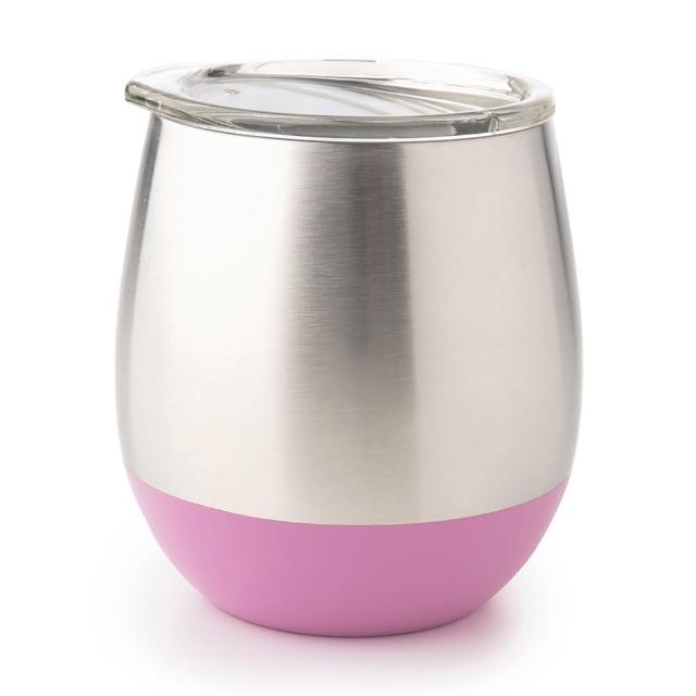 【美國 U Konserve】雙層保溫不鏽鋼杯(紫羅蘭粉)