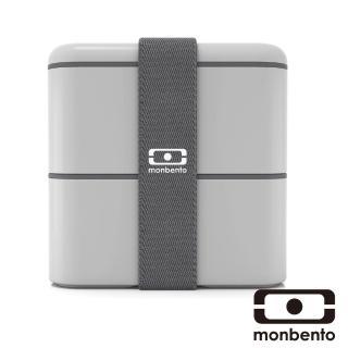 【MONBENTO】原創方型便當盒-淺灰(MB-120013110)