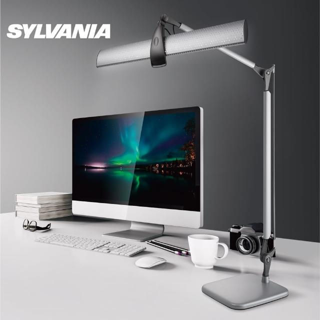 【喜萬年SYLVANIA】LED克卜勒1604雙臂護眼檯燈-新星版(LED克卜勒1604雙臂護眼檯燈)