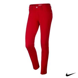 【NIKE 耐吉】GOLF女運動機能長褲(紅725717-657)