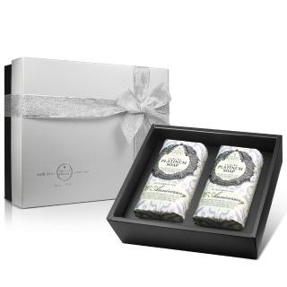 【Nesti Dante】義大利手工皂-鉑金菁萃皂禮盒(250g×2入)