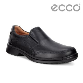 【ecco】ECCO FUSION柔軟舒適套入式正裝鞋 男(黑 50011401001)