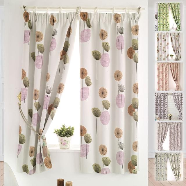 【巴芙洛】居家系列遮光窗簾-6款花色(台灣生產製造遮光窗簾)
