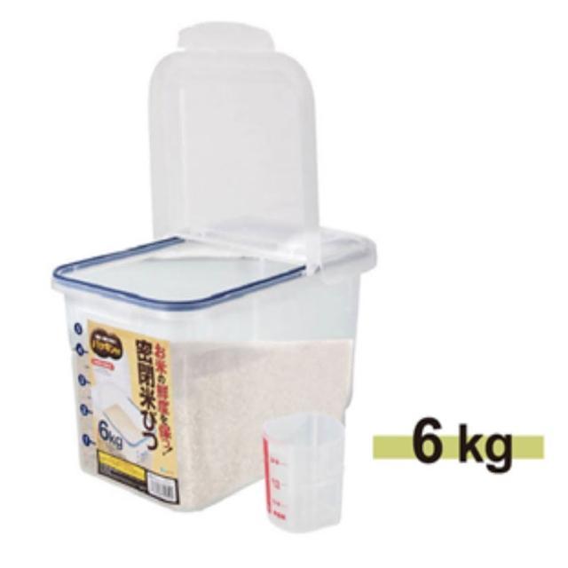 【ASVEL】密封保鮮米箱-6kg(廚房收納 密封保鮮米箱)