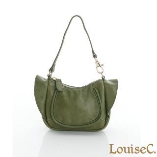 【LouiseC.】法式名伶萬用包 --墨綠色(34C13-0032A08)