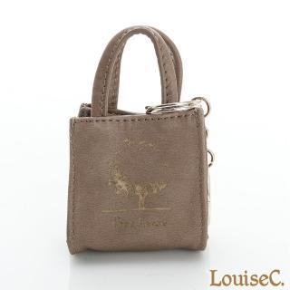 【LouiseC.】MINI TOTE鑰匙包灰褐色(34C29-0033A06)