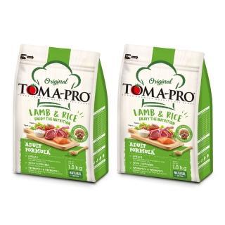 【TOMA-PRO 優格】成犬羊肉+米小顆粒-3kg*2入(毛髮柔亮配方)