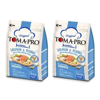 【TOMA-PRO 優格】成幼犬鮭魚+馬鈴薯-1.5kg*2入(敏感膚質配方)
