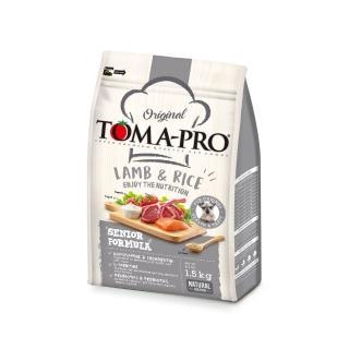 【TOMA-PRO 優格】高齡犬羊肉+米-13.6kg(高纖低脂配方)
