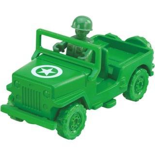 【TOMICA】玩具總動員小汽車 - 綠色小士兵&軍事車(小汽車)