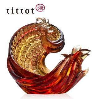 【tittot 琉園】華麗豐帆擺飾(琉璃)