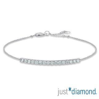 【Just Diamond】Charming系列18K金鑽石手鍊
