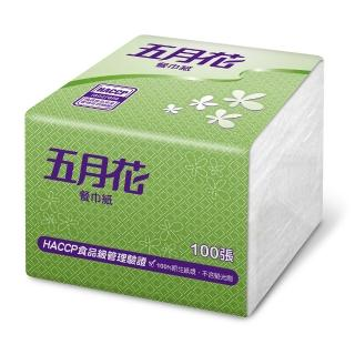 【MAY FLOWER 五月花】9吋餐巾紙(100張*48包)