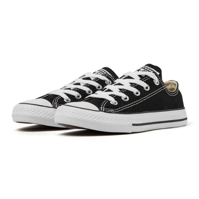 【CONVERSE】Chuck Taylor All Star Seasonal-黑-3J235C(大童休閒鞋)