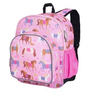 【Wildkin】幼兒後背包/寶寶書包(40708 凱莉小馬)