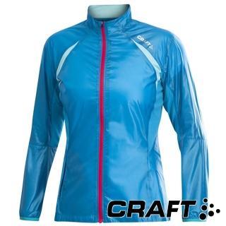 【CRAFT】女 PR輕量防潑水外套-『亮藍』1900629(戶外 運動 單車 機能衣 外套 吸濕排汗 乾爽透氣)