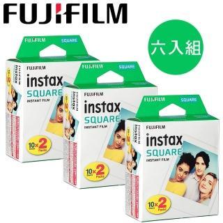 【FUJIFILM 富士】instax SQUARE 方形空白底片(6入/共60張)