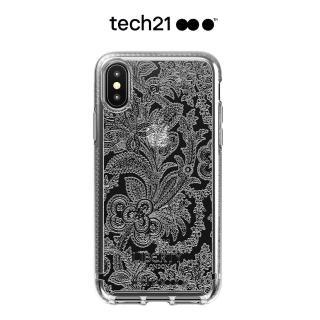 【tech21】英國Tech 21抗衝PURE防撞硬式保護殼-Grosvenor iPhone Xs Max(清透-倫敦百年Liberty聯名紀念款)