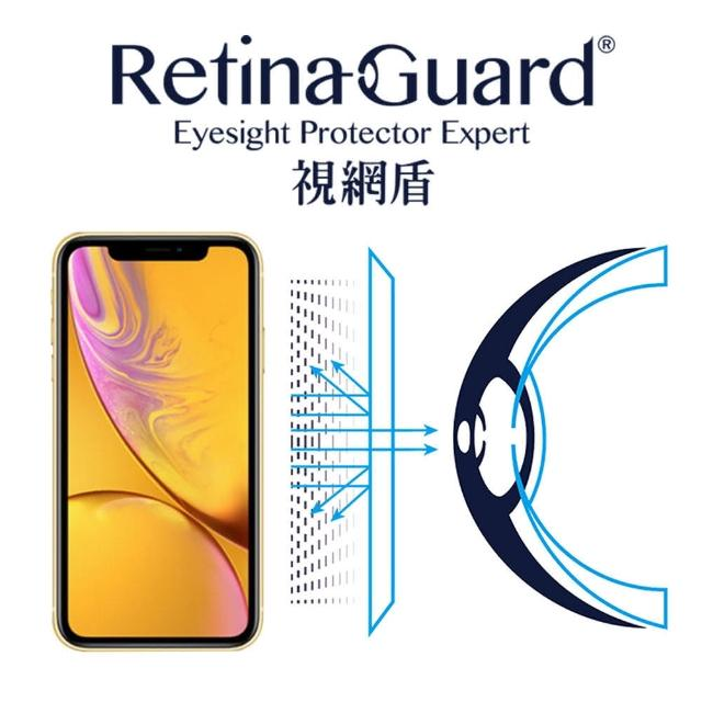 【RetinaGuard 視網盾】視網盾 iPhoneXR 6.1吋 防藍光保護膜(防藍光)