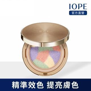 【IOPE 艾諾碧】緊顏光透智能調色隔離氣墊 14g(SPF31 PA++)