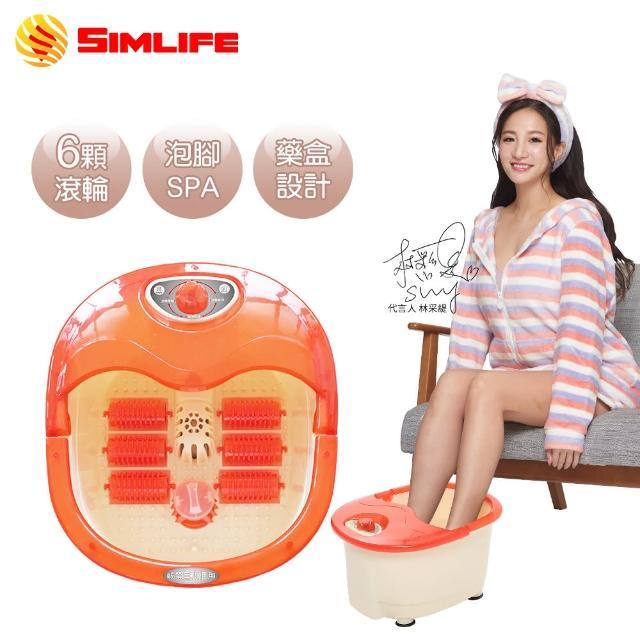 【SimLife】陶瓷加熱12種高強功能SPA泡腳機(足浴/足療/美腿機)