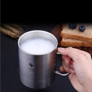 【PUSH!】餐具用品304不銹鋼杯子不銹鋼水杯漱口杯兒童防摔杯子茶杯(E116)