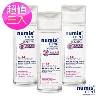 【德國Numis med樂美思】ph5.5極致修護保濕化妝水200ml(超值三入組)