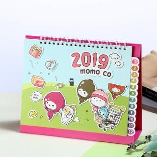 2019年momo co桌曆
