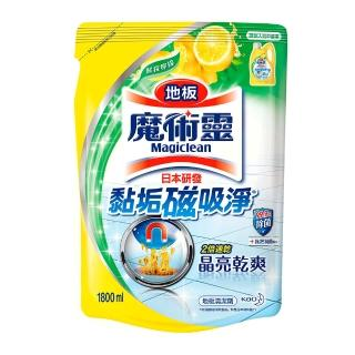 【魔術靈】地板清潔劑補充包1800ml(5款任選)