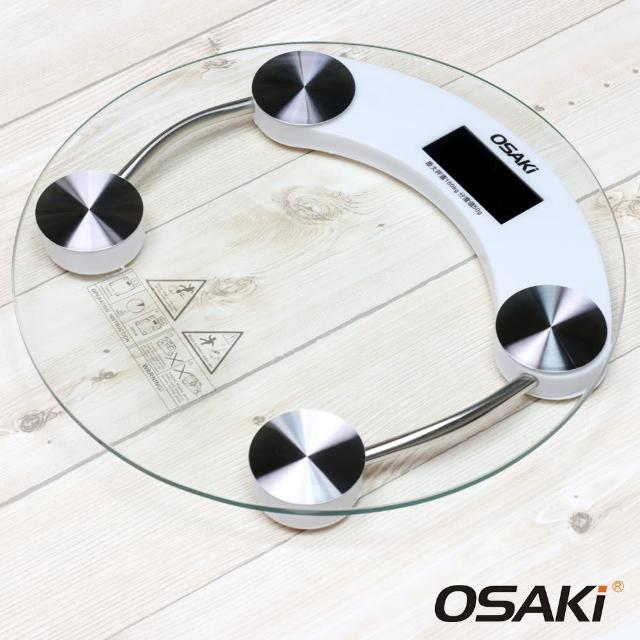 【OSAKI】玻璃液晶體重計(OS-ST602)