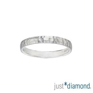 【Just Diamond】PT950 鉑金戒指 深情愛戀 對戒(男戒)