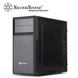 【SilverStone銀欣】PS09 黑化機殼(銀欣_精準系列     PS09)