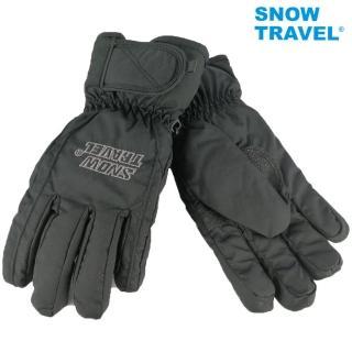 【SNOWTRAVEL】AR-ONE英國TPU防水套+白鵝羽絨700fill防水保暖滑雪手套/黑(滑雪/騎車/攻頂/海釣/出遊)