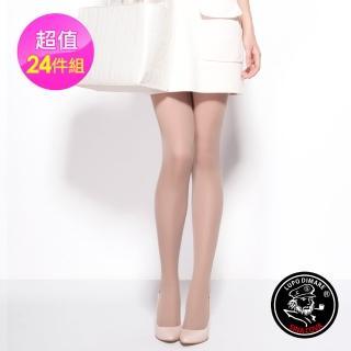 【Mona】夢拉果酸香全透膚顯瘦絲襪24雙(黑色/膚色)