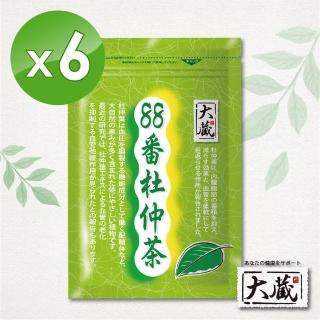【Okura 大藏】88番杜仲茶(2g*30包 /6袋入)