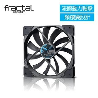 【Fractal Design】Venturi HF-14 黑 機殼系統高風量靜音風扇