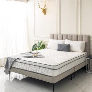 【obis】Julia三線3M防潑水蜂巢乳膠獨立筒床墊-雙人5*6.2尺(23cm)