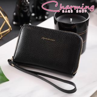 【Charming Bags】Tender Lady 真皮手掛零錢包(LN-752-TE-W)