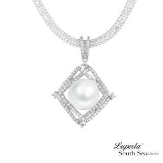 【大東山珠寶】璀璨之星 南洋珍珠純銀項鍊(南洋珍珠 白)