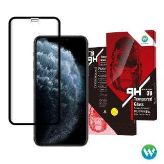 【Oweida】iPhone 11/XR共用 11ProMax/XsMax共用 3D滿版鋼化玻璃貼