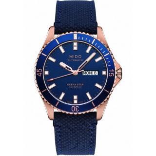 【MIDO 美度】MIDO 美度 Ocean Star 動力儲存80小時 200米水鬼潛水機械錶-M0264303604100(200米潛水機械錶)