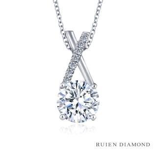 【RUIEN DIAMOND 瑞恩鑽石】GIA 1克拉 D VS2 3EX(18K玫瑰金 求婚鑽戒 摯愛)