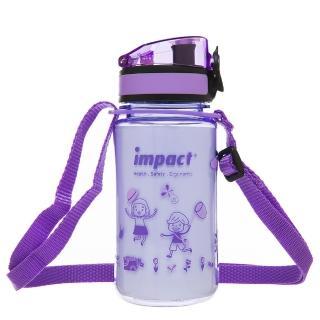【IMPACT 怡寶】童趣杯-長背帶 350ML(紫 IM01B04PL)